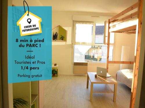 Appart Hôtel Futuroscope - Poitiers : Apartment near Vouneuil-sur-Vienne