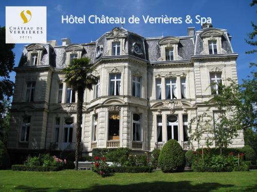 Hotel The Originals Château de Verrières (ex Relais du Silence) : Hotel near Montreuil-Bellay