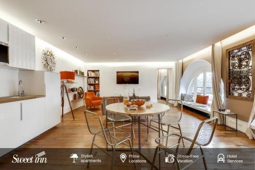 Apartment Sweet Inn - Rue de l'Amiral de Coligny : Apartment near Paris 1er Arrondissement