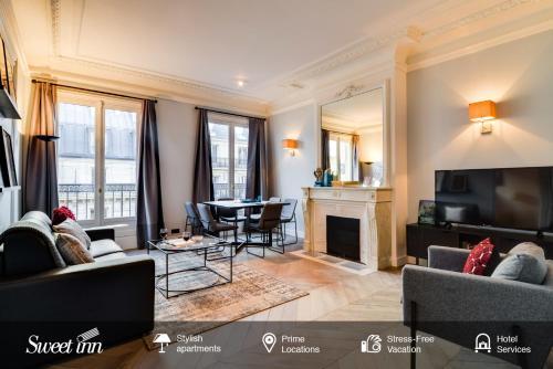 Sweet Inn -Place des Victoires : Apartment near Paris 2e Arrondissement
