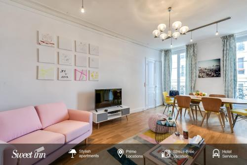 Sweet Inn - Rue Pierre Lescot : Apartment near Paris