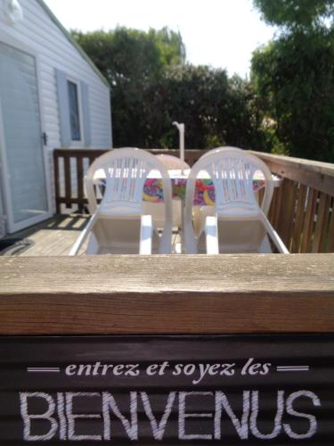 Mobile Home Bienvenus : Guest accommodation near Douville-en-Auge