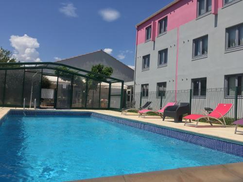 Kyriad Montpellier Aéroport : Hotel near Mauguio