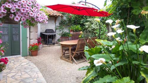 Le Petit Chêne Vert : Guest accommodation near Gourvillette