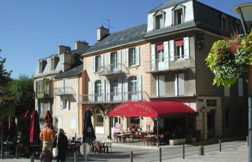 Hôtel Le Drakkar : Hotel near Saint-Étienne-du-Valdonnez