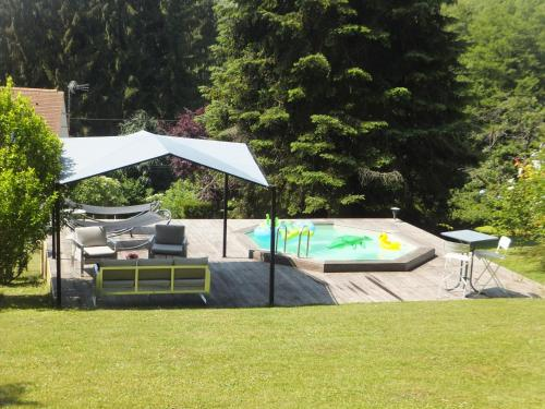 L'Eugenie : Guest accommodation near Moulin-sous-Touvent