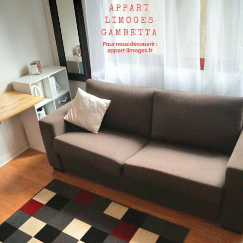 Studio Limoges Gambetta : Apartment near Flavignac