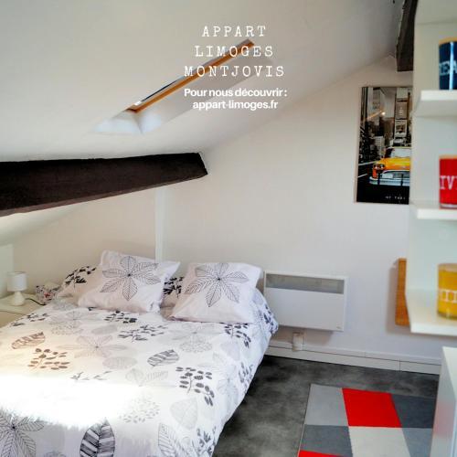 Studio Limoges Montjovis : Apartment near Limoges