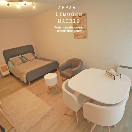 Studio Limoges Mairie! : Apartment near Flavignac