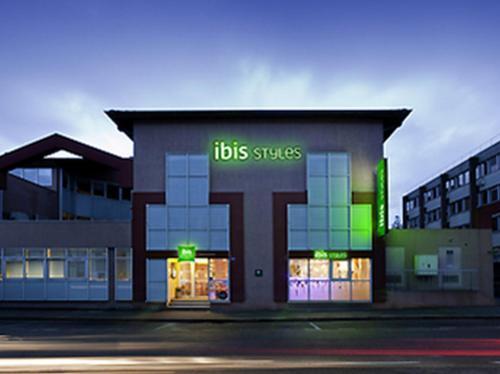 ibis Styles Bourg en Bresse : Hotel near Saint-André-le-Bouchoux