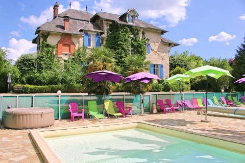 Le Pavillon de Saint-Agnan : Guest accommodation near Salagnac