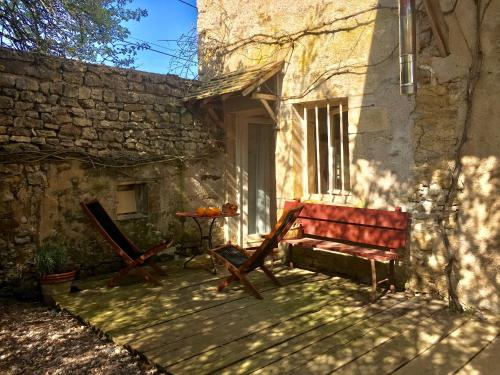 Le Studio de Brianny : Apartment near Villeberny