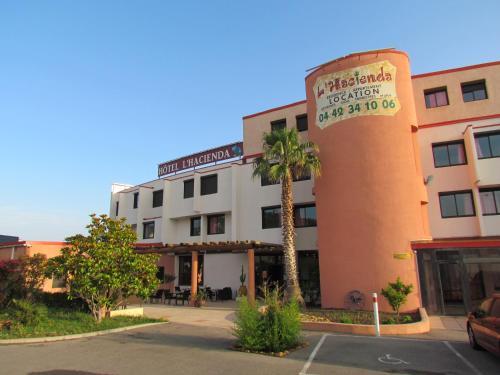 L'Hacienda : Hotel near Châteauneuf-les-Martigues