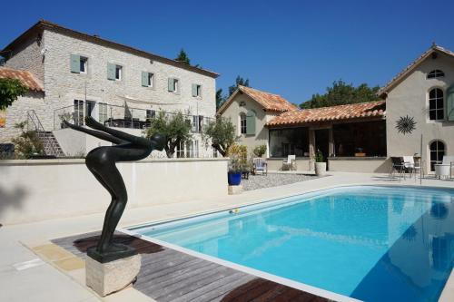 Le Clos des Troubadours : Bed and Breakfast near Cuxac-Cabardès