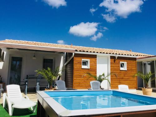 Gite Blanco y Madera : Guest accommodation near Moussan