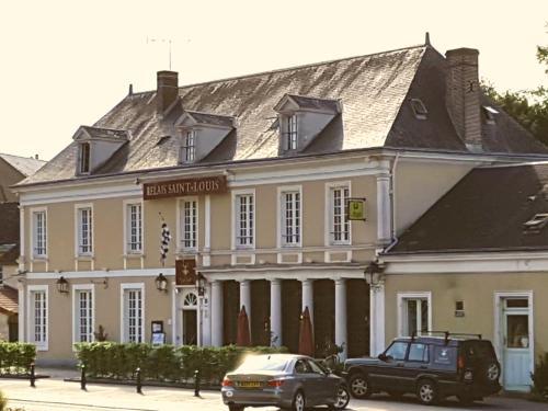 Relais Saint Louis, Logis : Hotel near Saint-Cyr-la-Rosière