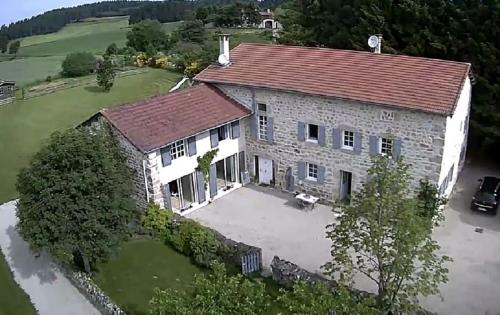 B&B Le Bastidon de Villeneuve : Bed and Breakfast near Chomelix