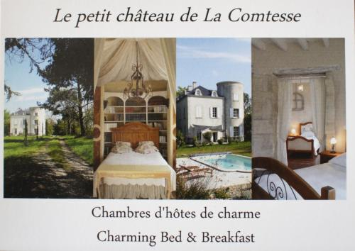 Château de la Comtesse : Bed and Breakfast near Landerrouet-sur-Ségur