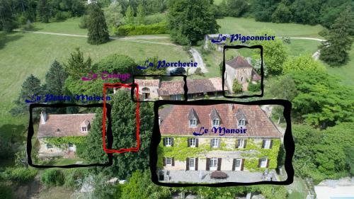 Le Manoir De St Marcel : Guest accommodation near Saint-Félix-de-Villadeix