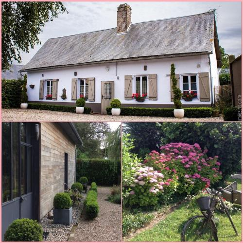 Gite Cottage d'Hamicourt aux Portes de la Baie de Somme : Guest accommodation near Foucaucourt-Hors-Nesle