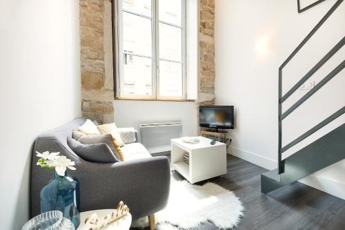 Duplex Cosy Croix Rousse : Apartment near Lyon 9e Arrondissement