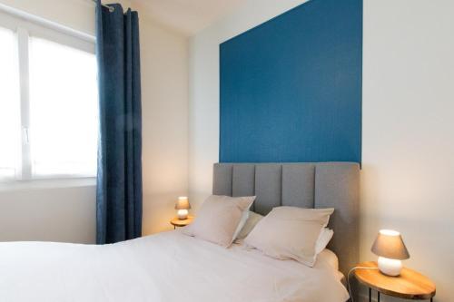 Pied à terre à Lorient - Appartement 2 chambres tout équipé : Apartment near Locmiquélic