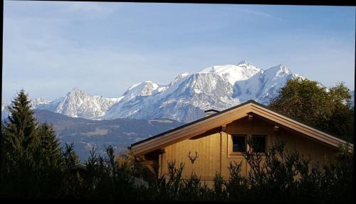 Le Floralp : Guest accommodation near Combloux