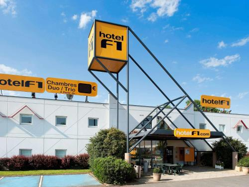 hotelF1 Poitiers Nord Futuroscope : Hotel near Bignoux
