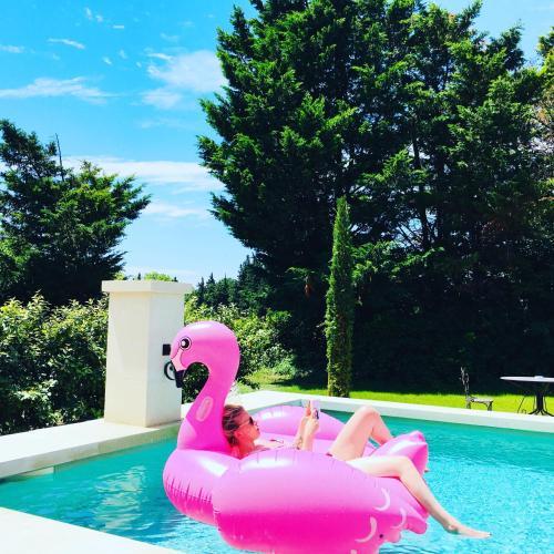 La Mouréale Pool & Spa : Guest accommodation near Caumont-sur-Durance