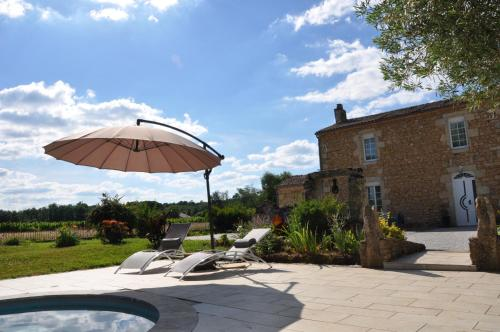 Clos San Gianni : Bed and Breakfast near Saint-Pierre-de-Mons