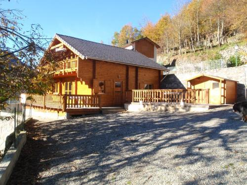 Chalet L'Estap : Guest accommodation near Roquefeuil