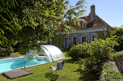 La chambonnette : Guest accommodation near Sainpuits
