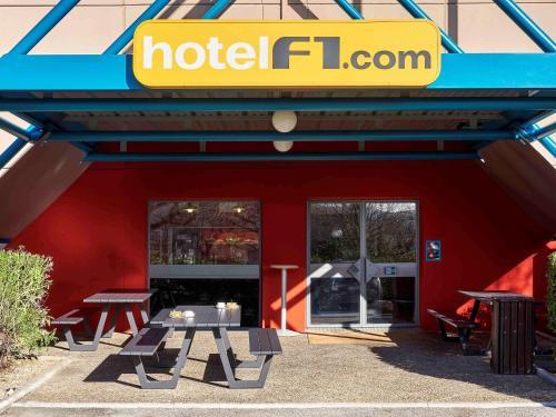 hotelF1 Toulouse Aéroport : Hotel near Mondonville