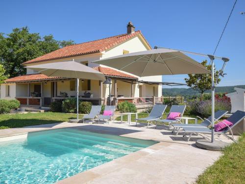 Villa Autour Des Vignes : Guest accommodation near Le Boulvé