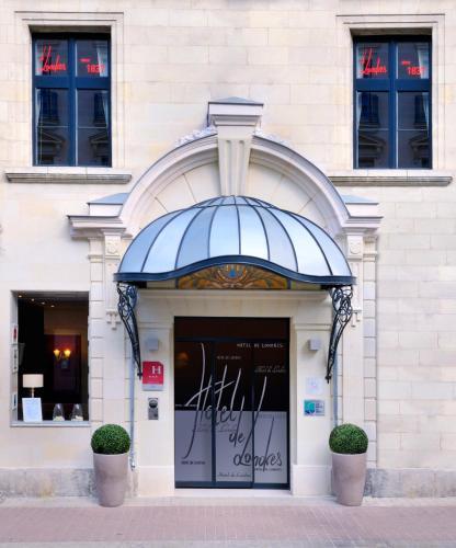 Hotel The Originals Saumur Le Londres (ex Qualys-Hotel) : Hotel near Les Ulmes