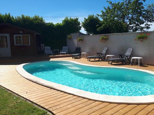 Chambres d'Hôtes la Verrerie : Guest accommodation near Salles