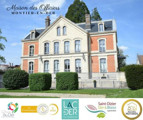 La Maison Des Officiers : Guest accommodation near La Ville-aux-Bois