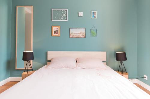 Pieds à terre à Lorient - Appartements meublés : Apartment near Locmiquélic