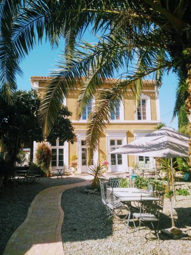 La Maison des Palmiers : Bed and Breakfast near Argens-Minervois