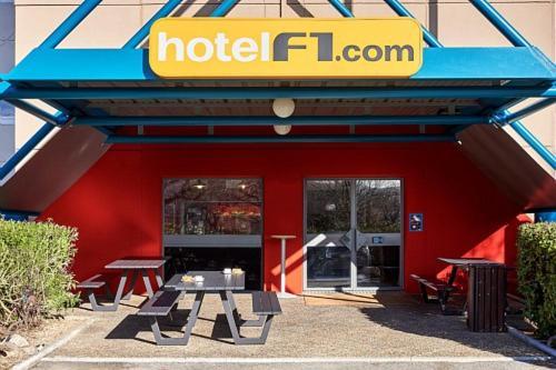 hotelF1 Marseille Plan de Campagne N°1 : Hotel near Cabriès