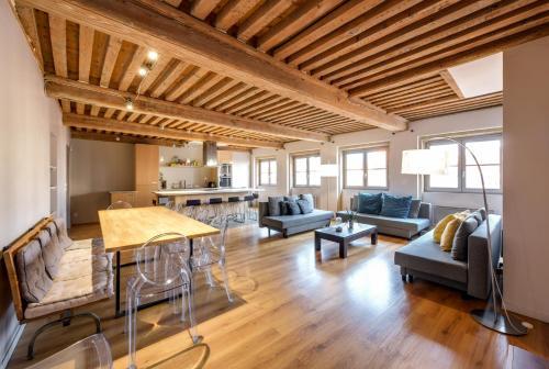 Les Toits d' Ainay : Apartment near Lyon 2e Arrondissement