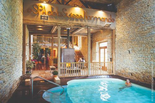 Domaine de la Pommeraye & Spa : Hotel near Saint-Vigor-des-Mézerets