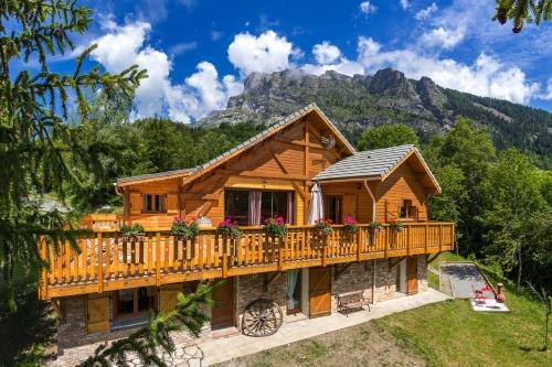 Gite&Spa le Montagnard : Guest accommodation near Saint-Jean-Saint-Nicolas