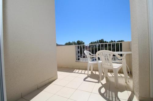 VOI256 - T2 avec parking à 700m de la plage : Apartment near Villelongue-de-la-Salanque