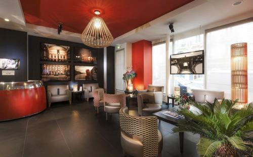 Hotel Atmospheres : Hotel near Paris 5e Arrondissement