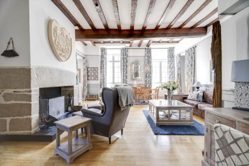 Le logis des ducs : Apartment near Guérande