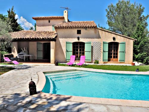 Villa , piscine, 10 mn sea,near St Paul/ Vence et cagnes/mer : Guest accommodation near La Gaude