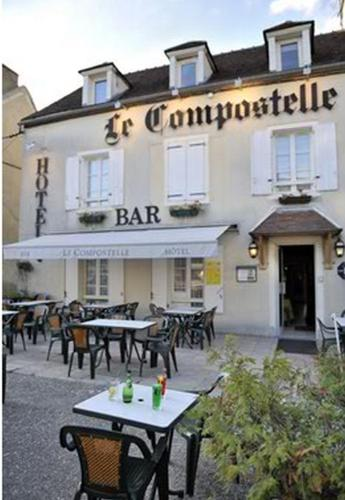Le Compostelle : Hotel near Brinon-sur-Beuvron