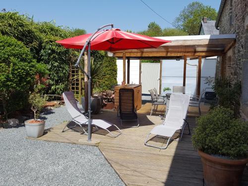 Gîte de l'Aubellerie : Guest accommodation near Montcuit