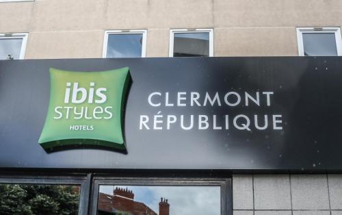Ibis Styles Clermont-Ferrand République : Hotel near Dallet
